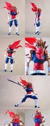 Custom Strider Hiryu figure by SomaKun