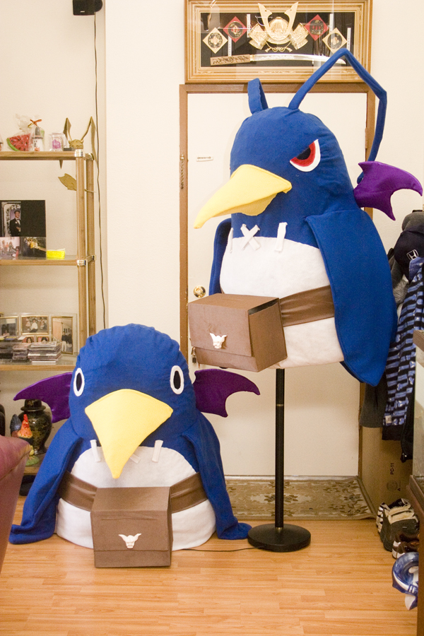 Prinny costume update DOOD by SomaKun