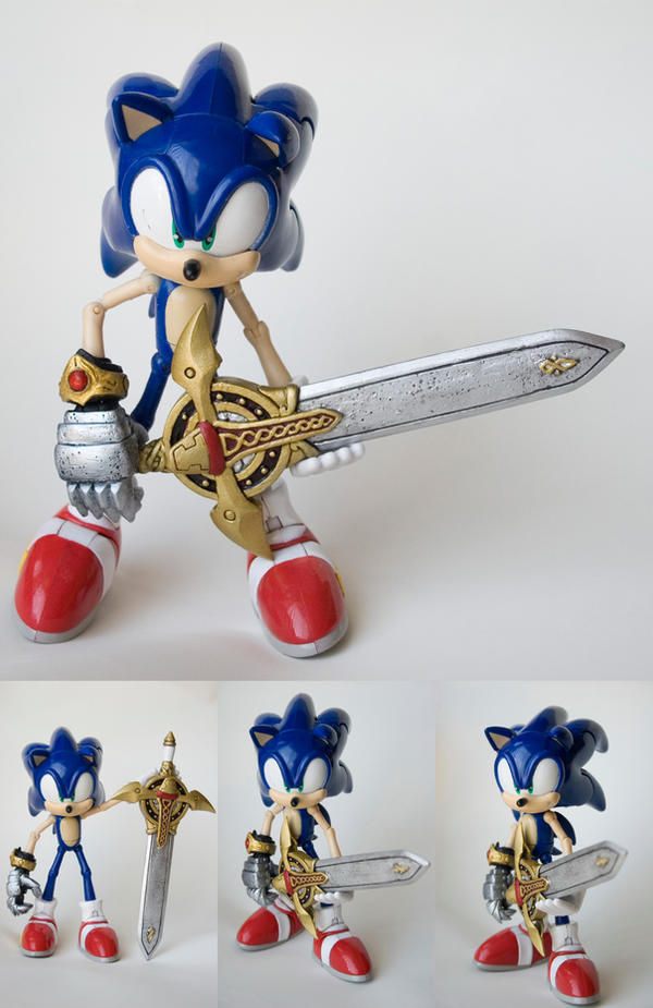 Sonic n th Black Knight custom by SomaKun