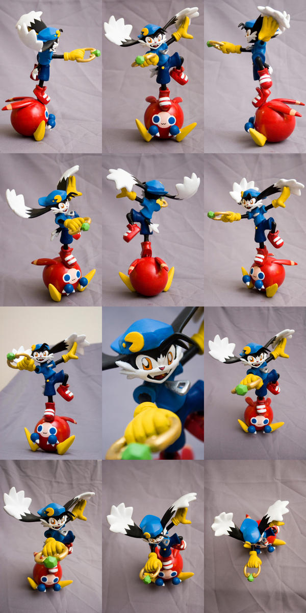 Klonoa sculpture by SomaKun