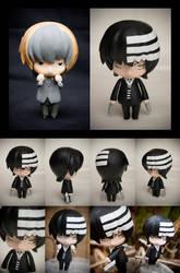 Custom Death the Kid nendoroid by SomaKun