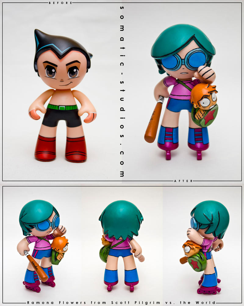 Ramona Flowers custom by SomaKun