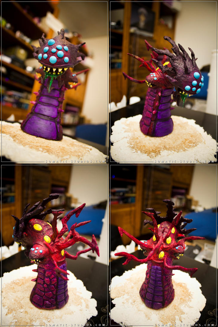 LOL Baron Nashor sculpture by SomaKun