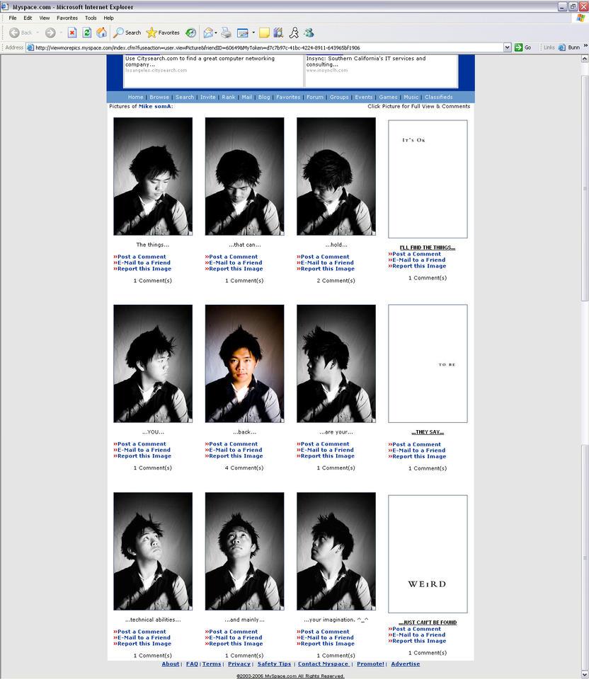 Myspace by SomaKun