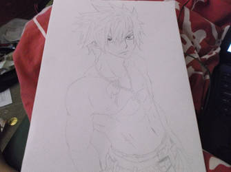 Gray Fullbuster- Fairytail by AnimeReaperAngel