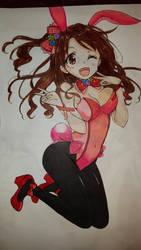 Easter bunny  by AnimeReaperAngel
