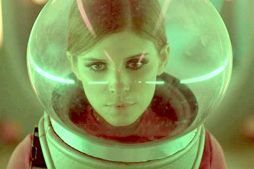 Kate Mara In Space by Ostercy