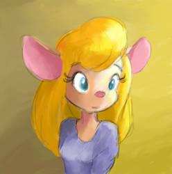 Painting by ItsJustFlesh