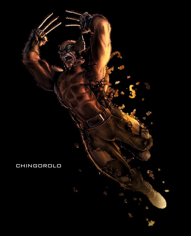 Wolverine Render by chingorolo