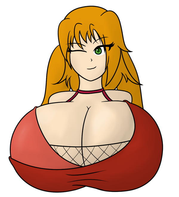 Busty Asuna Bust by Ifrit9