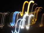 Lights in long exposure
