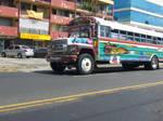 Panamanian city bus