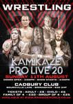 Kamikaze Pro Live 20 Poster
