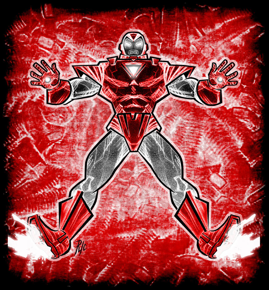 Iron Man - MK VII - Silver Centurion by rubioric