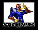 Captian Falcon the Motivator