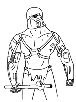 Collaborative Piece No. 1: Generic Tough Guy by McIHOP