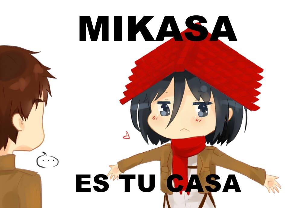Mikasa Es Tu Casa by TiiteMiissdu69 on DeviantArt