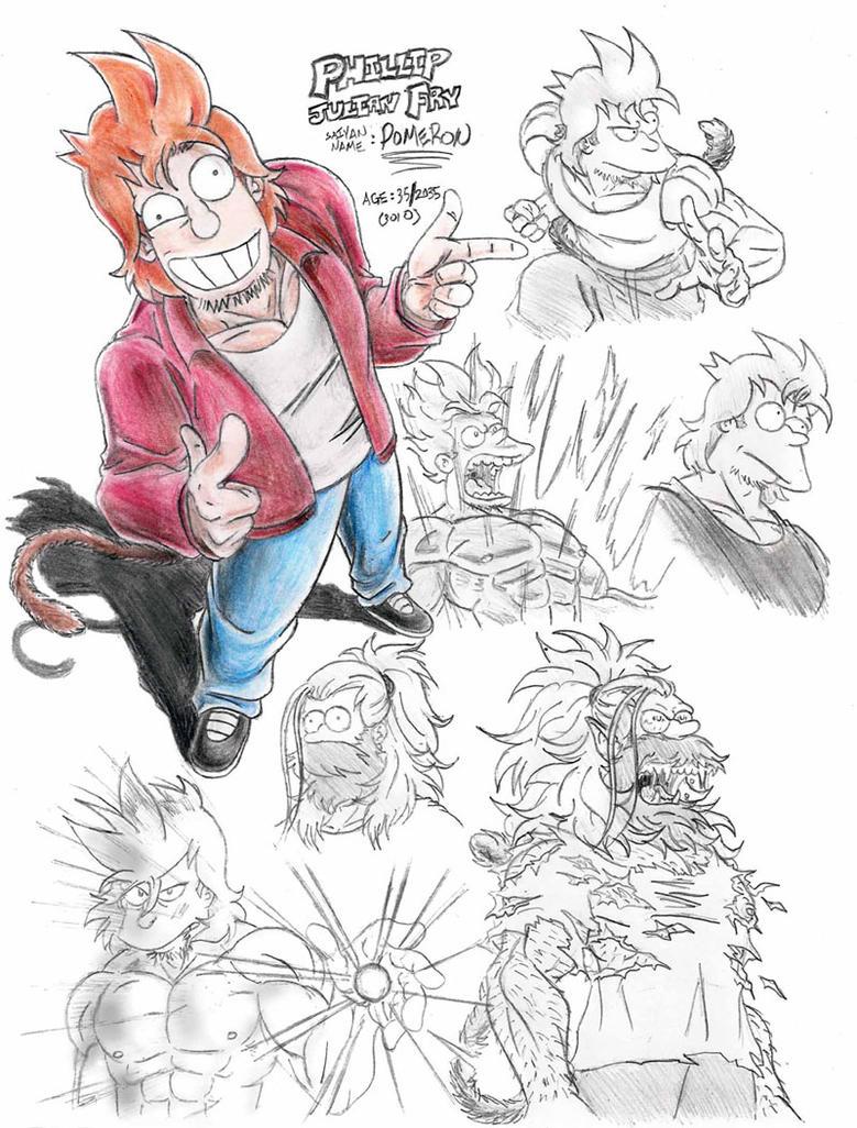 Futurama  Zetto's Phillip J. Fry by Laborde91