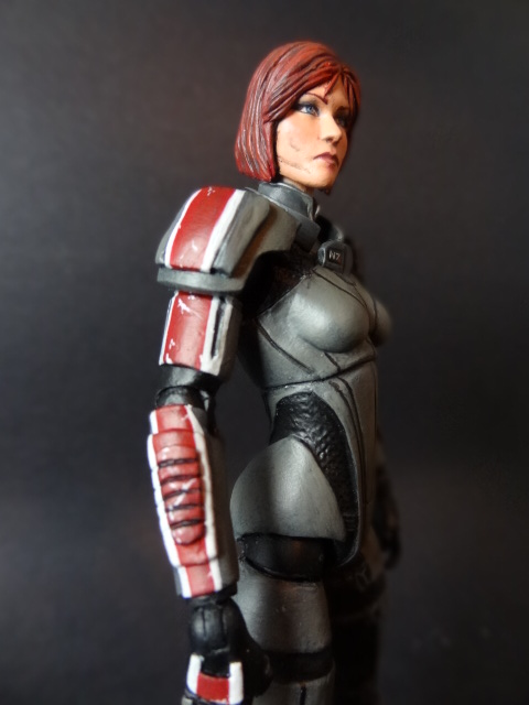 Commander Shepard (female) Custom Action Figure by spawnsauce