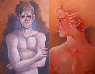 male paintings old masters style by sergiovisual