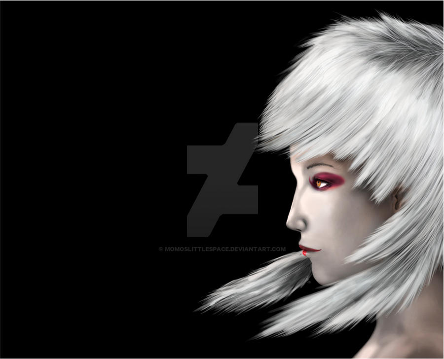 W.I.P She III by momoslittlespace