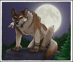 Werewolf by daggerstale