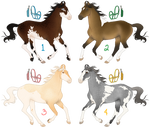 Colorful Crossbreed Adopts - 2/4 OPEN (reduced)