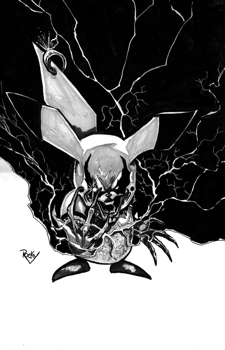BLACK METAL PIKACHU by RockyAndreotti