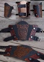 Leather Bracer Oseberg