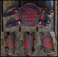 Dragon Circle Bracer by Wodenswolf