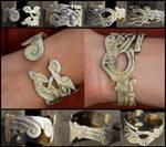 Hand of Doom Horn Bracelet