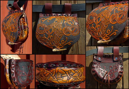 Sword Of Suontaka Belt Bag