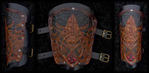 Viking Bracer Oden
