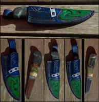 Nordic Custom Knife Folkvang by Wodenswolf