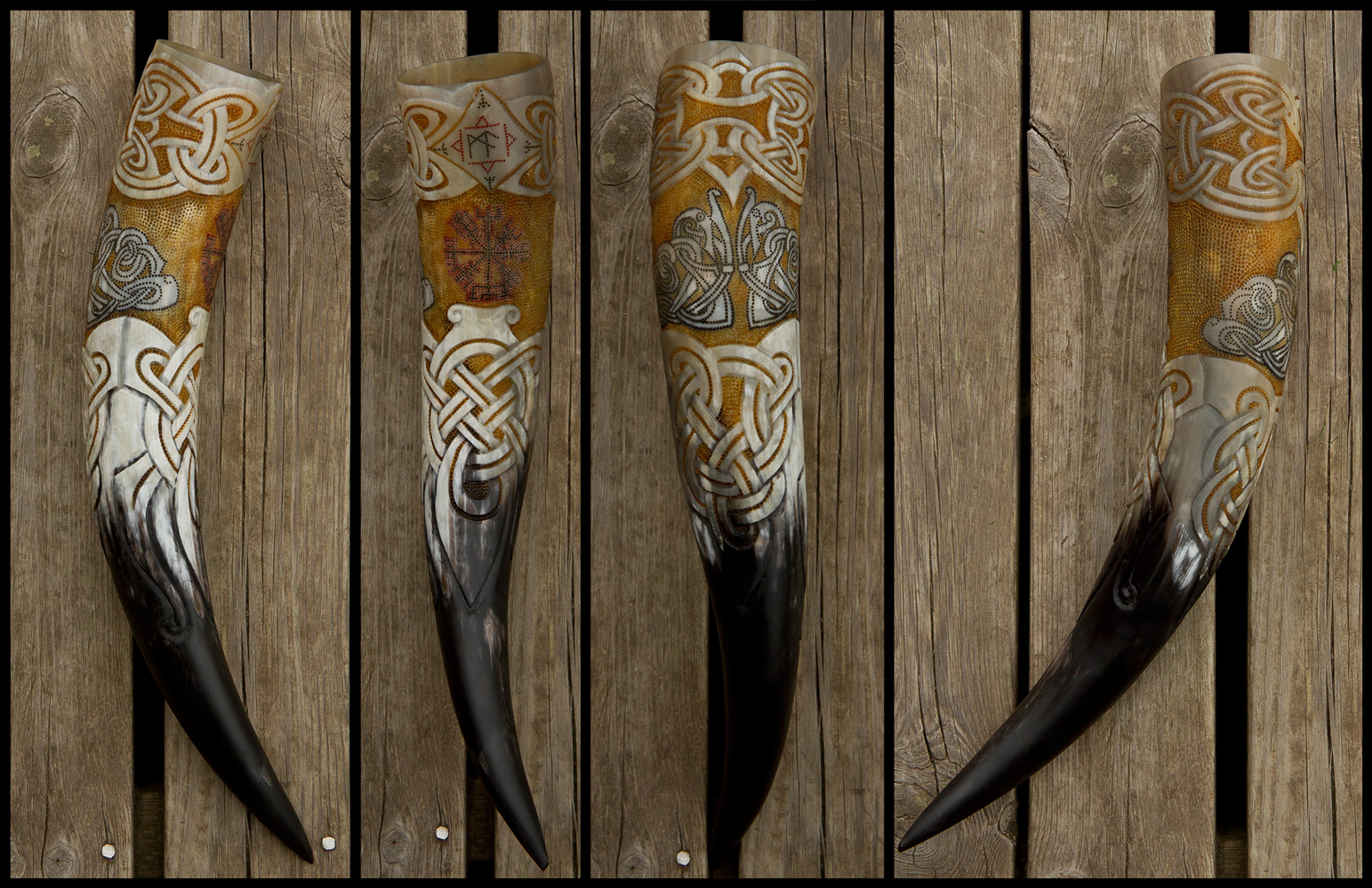 GoViking Drinking Horn by Wodenswolf