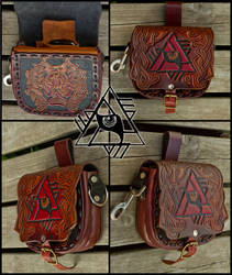 Lupus Illuminatus Belt Bag