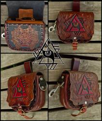 Lupus Illuminatus Belt Bag