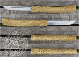 Nordic Custom Knife 1 by Wodenswolf