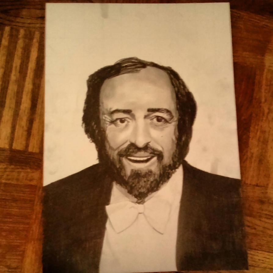 Pavarotti by Mayalys