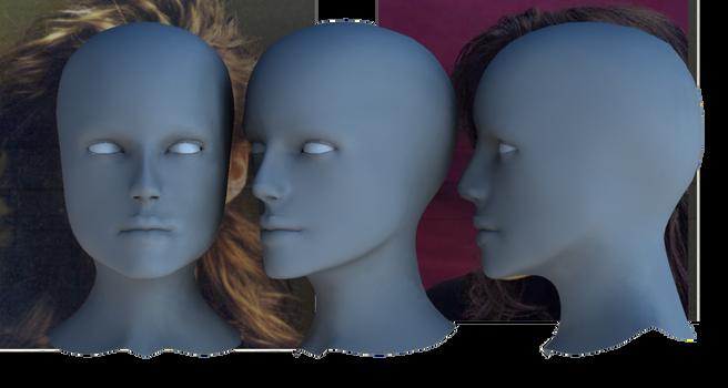 Kiera head model 1