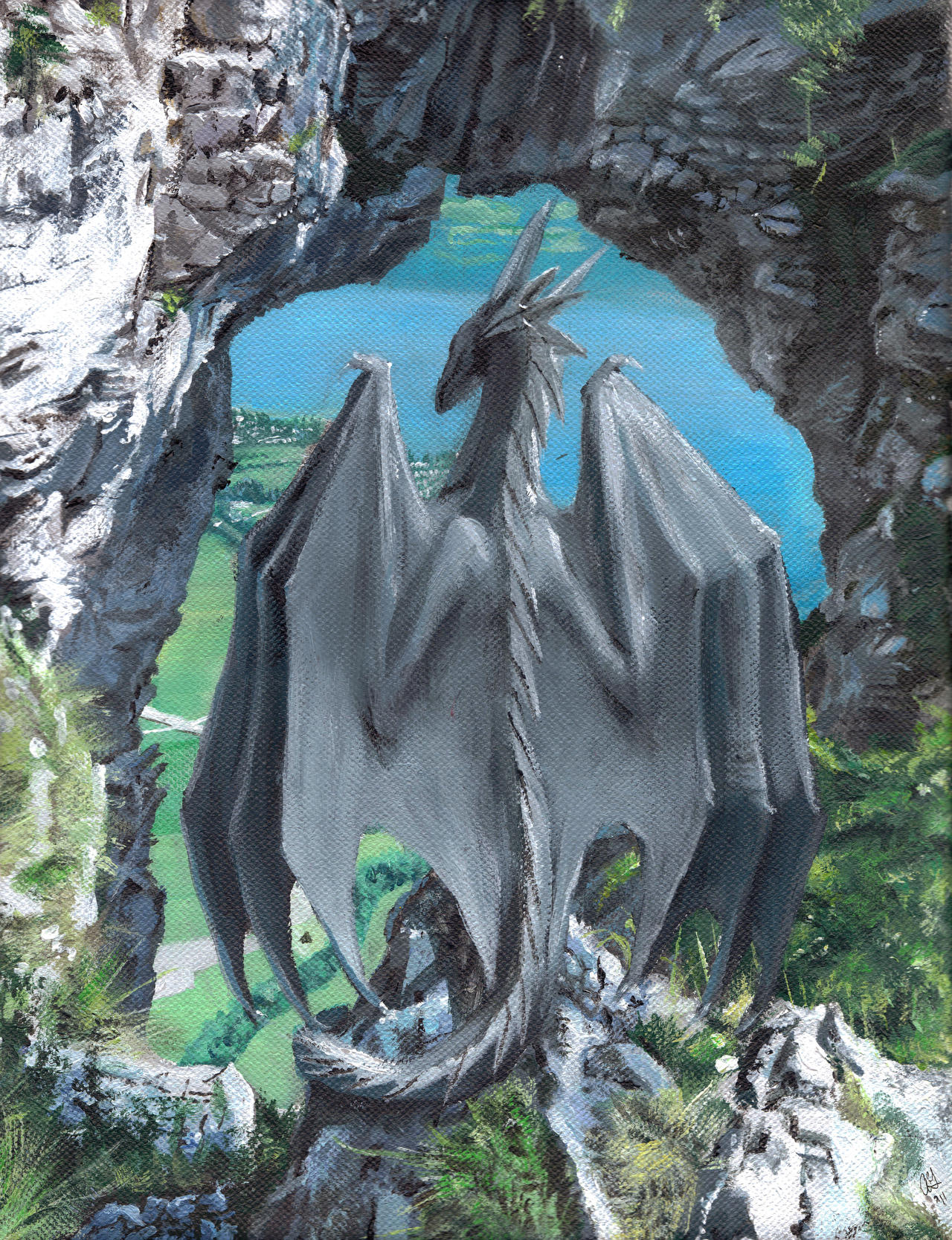 Drachenwand by Khyaber