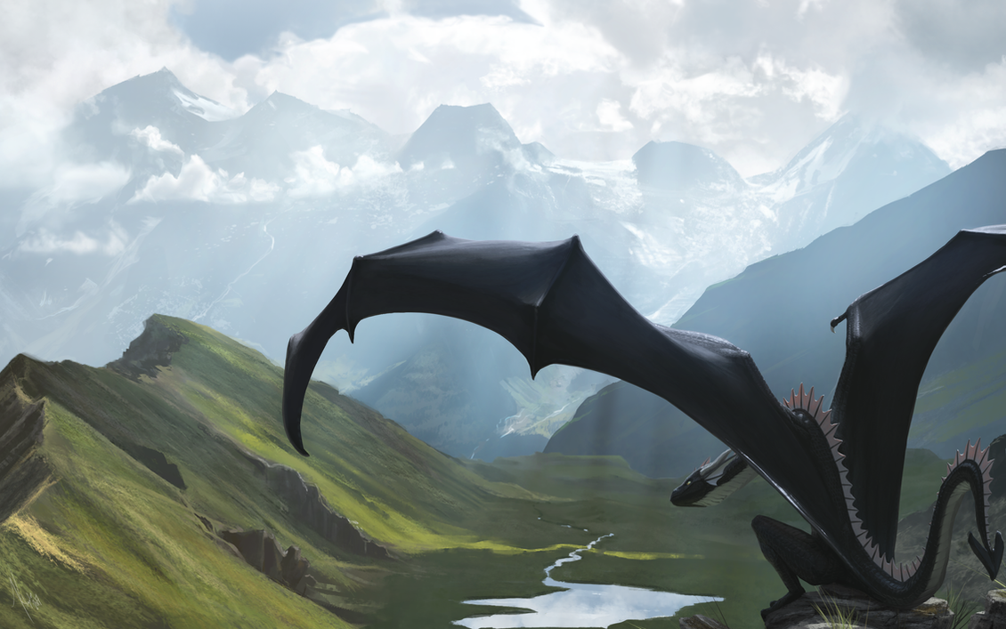 King of the Alps by Khyaber