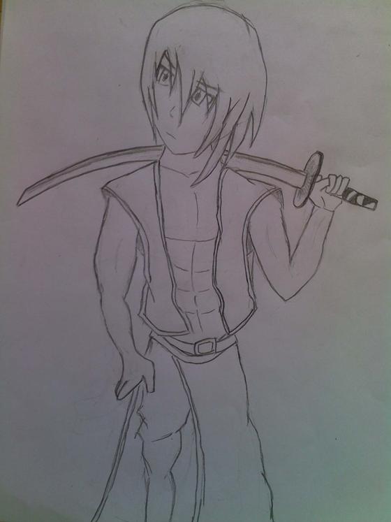[Rysunki] Grenia ;d Samurai_Random_Anime_by_Grenio