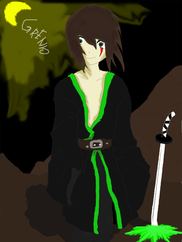 [Rysunki] Grenia ;d Forgotten_Samurai_by_Grenio