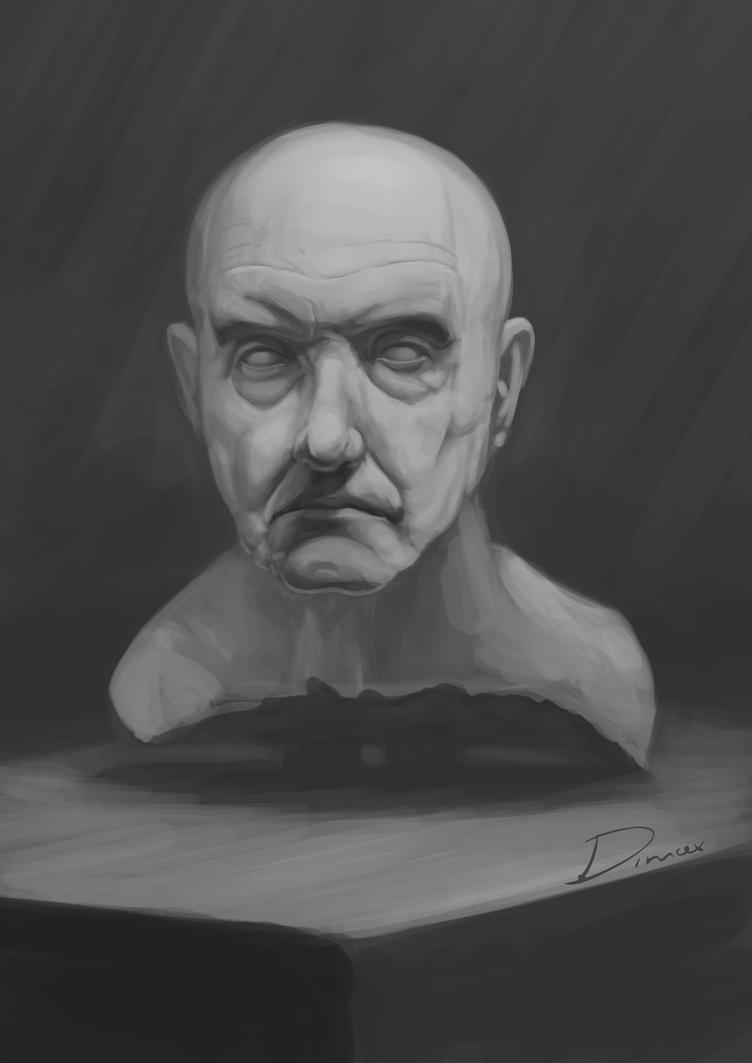 bust study by dimitrisax