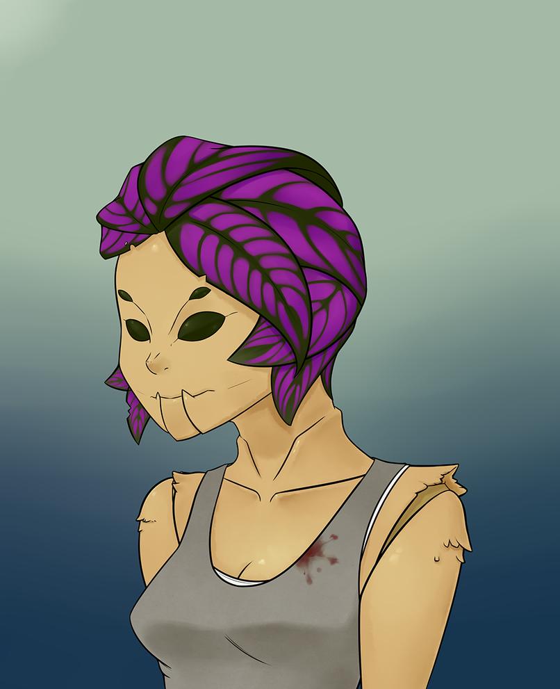 Bug-Plant Girl by Gikamoth
