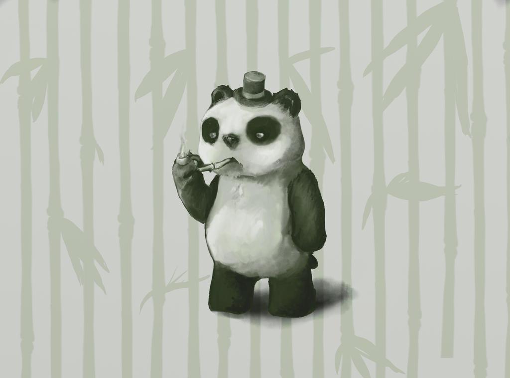 A Classy Panda