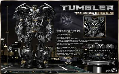 If the Batmobile was a Transformer