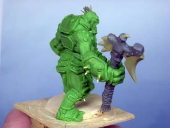 Trollkin Axer 9 by FilouArt