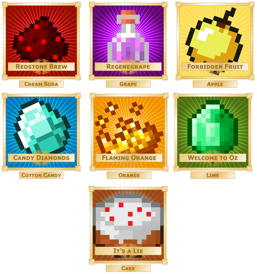 Minecraft Food Lables Pictures to Pin on Pinterest - PinsDaddy